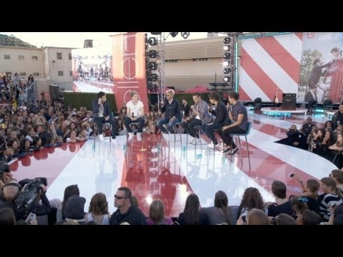 One Direction Video Diary – 1D Talks Dating on the Ellen Show